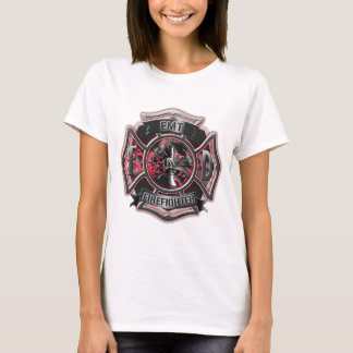 EMT Firefighter red. T-Shirt