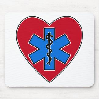 EMT Heart Mousepad