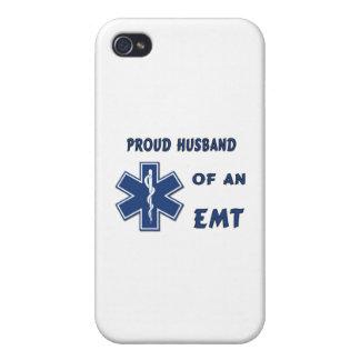 EMT Husband iPhone 4 Cover