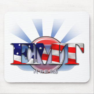 EMT in the USA (EMERGENCY MEDICAL TECH) Mousepads