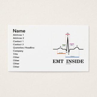 EMT Inside (ECG/EKG Electrocardiogram) Business Card