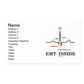 EMT Inside (ECG/EKG Electrocardiogram) Pack Of Standard Business Cards