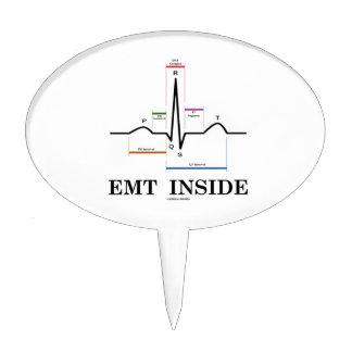EMT Inside (Sinus Rhythm Electrocardiogram) Cake Toppers