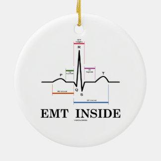 EMT Inside (Sinus Rhythm Electrocardiogram) Ornaments