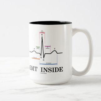 EMT Inside (Sinus Rhythm Electrocardiogram) Mug
