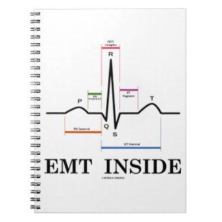 EMT Inside (Sinus Rhythm Electrocardiogram) Note Books