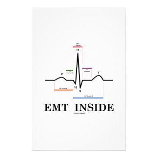 EMT Inside (Sinus Rhythm Electrocardiogram) Custom Stationery