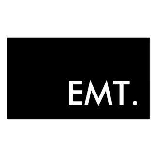 EMT. PACK OF STANDARD BUSINESS CARDS