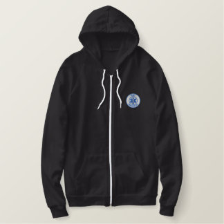 Emt Paramedic Embroidered Hoodie
