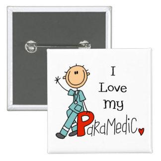 EMT/Paramedic Gift 15 Cm Square Badge