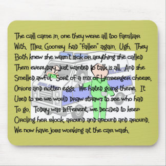 EMT/Paramedic Story ARt Gifts Mouse Pad