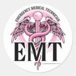 EMT Pink Caduceus Sticker