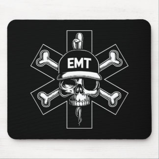 EMT Pirate Day Mouse Pads