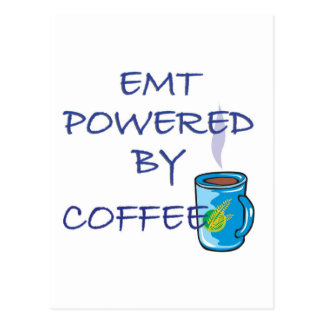 EMT POWERED BY CHOCOLATE POSTCARD