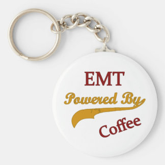 EMT Powered By Coffee Key Ring