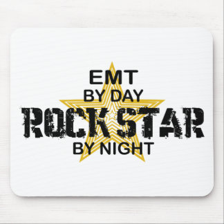 EMT Rock Star by Night Mouse Pad