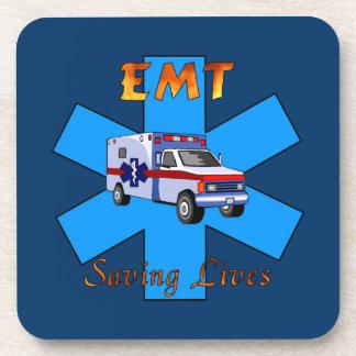 EMT Saving Lives Coasters