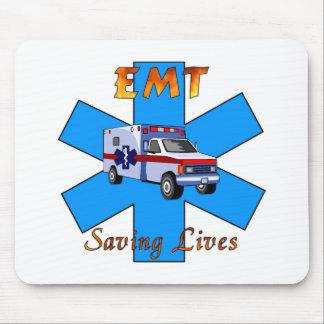 EMT Saving Lives Mouse Mat