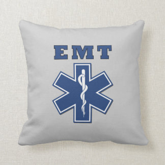 EMT Star of Life Cushion