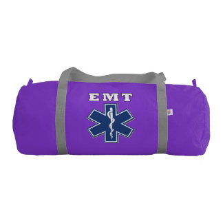 EMT Star of Life Gym Duffel Bag