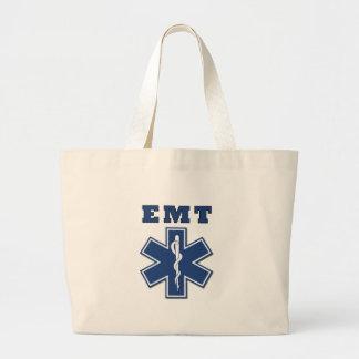 EMT Star of Life Large Tote Bag