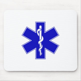 EMT Star of Life Mouse Pad