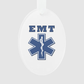 EMT Star Of Life Ornament