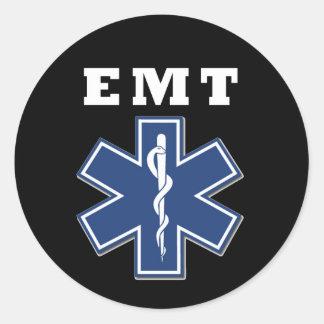 EMT Star of Life Round Sticker