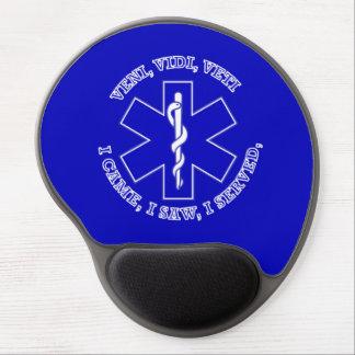 EMT Star Of Life Shield Gel Mouse Pad