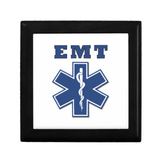 EMT Star of Life Small Square Gift Box