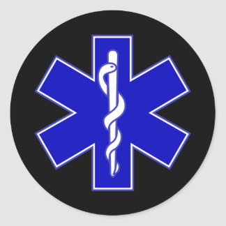 EMT Star of life sticker
