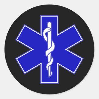 EMT Star of life sticker