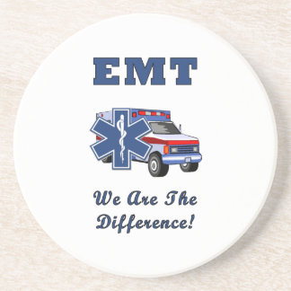 EMT We Are The Difference Coasters