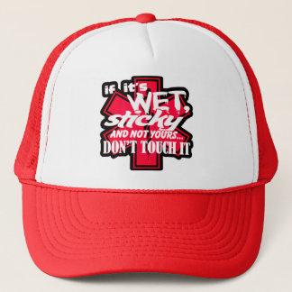 EMT Wet And Sticky Trucker Hat