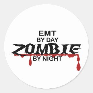 EMT Zombie Classic Round Sticker
