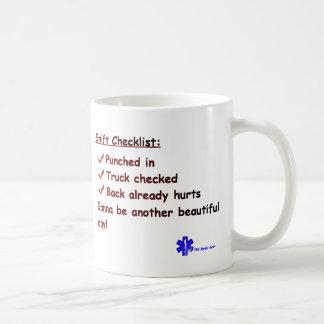 EMT's Great Day Basic White Mug
