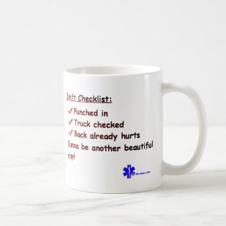 EMT's Great Day Coffee Mug