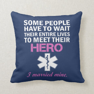 EMT's Wife Cushion