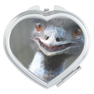 Emu Bird Mirror For Makeup