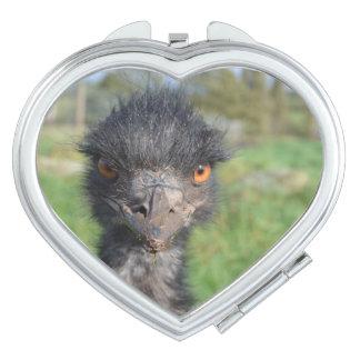 Emu Bird Compact Mirrors