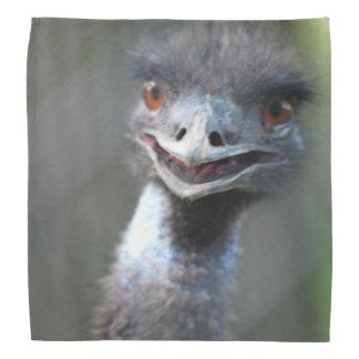 Emu Bird Head Kerchief