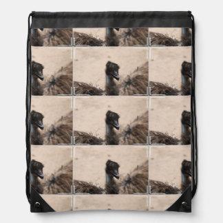 Emu Bird Cinch Bag