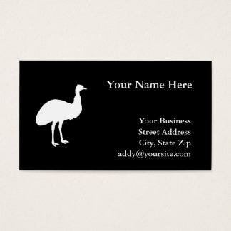 Emu Business Card