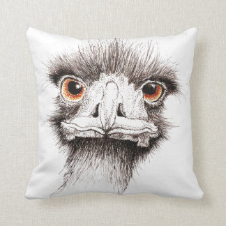 Emu by Inkspot Cushion