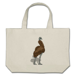 Emu Canvas Bags