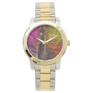 Emu_Devil_Waltz_Unisex_Large Unisex Two Tone Watch