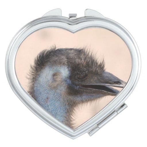Emu Face Vanity Mirrors