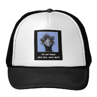 EMU: FUNNY SAYING FOR TENSE BOSS OR OTHERS MESH HATS