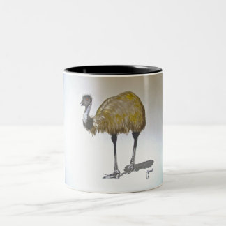 Emu in Watercolour Mug