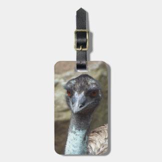 Emu Luggage Tag